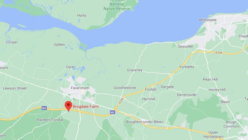 Brogdale Fram - Google Maps